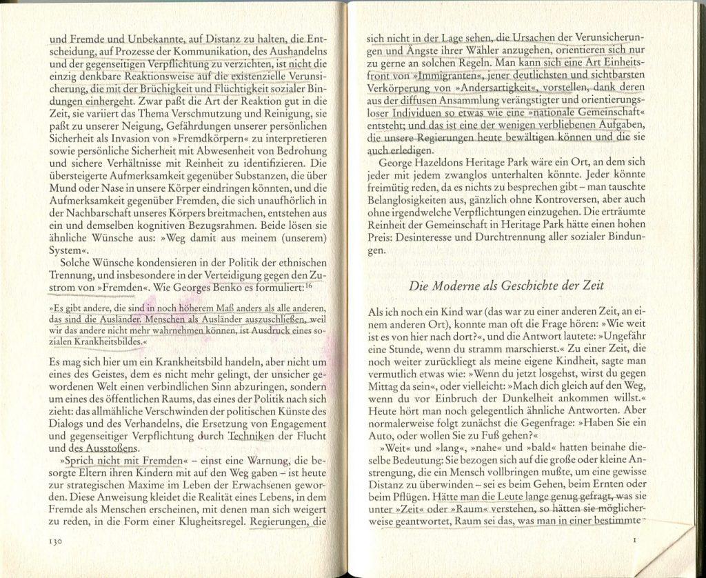 text zigmund Bauman 1 Fluechtige moderne p.13